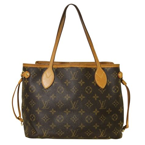louis vuitton neverfull pm monogram handbag