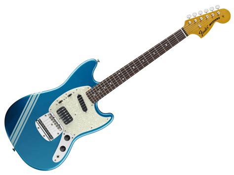 Namm 2012 Fender Introduces Kurt Cobain Mustang Guitar