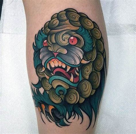 Old School Style Asian Traditional Tiger Tattoo On Arm
