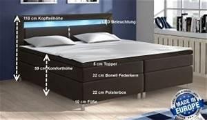 King Size Bettwäsche Maße : boxspringbett vs konventionelles bett expertentesten ~ Eleganceandgraceweddings.com Haus und Dekorationen