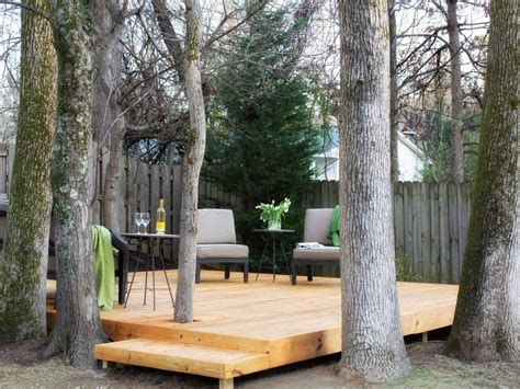 how to build a tree encompassing deck hgtv