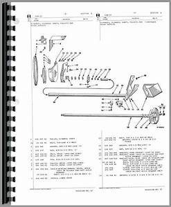 Massey Ferguson 41 Sickle Mower Parts Diagram