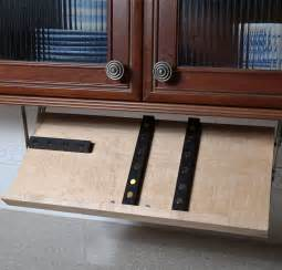 how to store kitchen knives cabinet knife block in knife storage