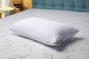 zippered pillow cover encasement waterproof bed bug proof With bed bug pillow case covers