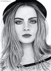 Fille Swag Dessin Couleur Crecre Amy Valentine Illustration