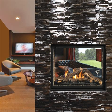 kingsman clean view direct vent   gas fireplace