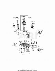 Mtd 4p90m0 Engine Parts Diagram For 4p90m0 Crankshaft