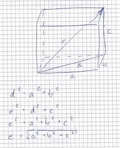 Länge Eines Vektors Berechnen : l nge von vektoren formel herleiten l ngenberechnung eines vektors mathelounge ~ Themetempest.com Abrechnung
