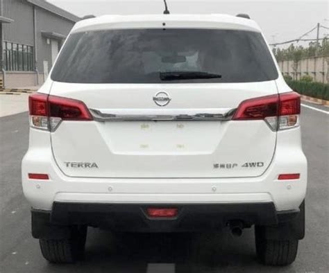 nissan navara based terra  seat suv spotted