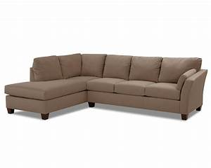 klaussner drew two piece sectional sofa with chaise With sectional sofas johnny janosik
