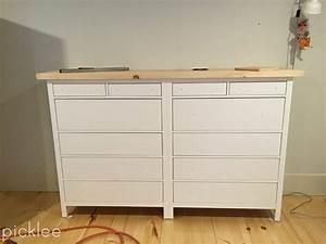 Ikea Hemnes Hack : ikea hack built in ikea hemnes wardrobe dresser picklee ~ Markanthonyermac.com Haus und Dekorationen