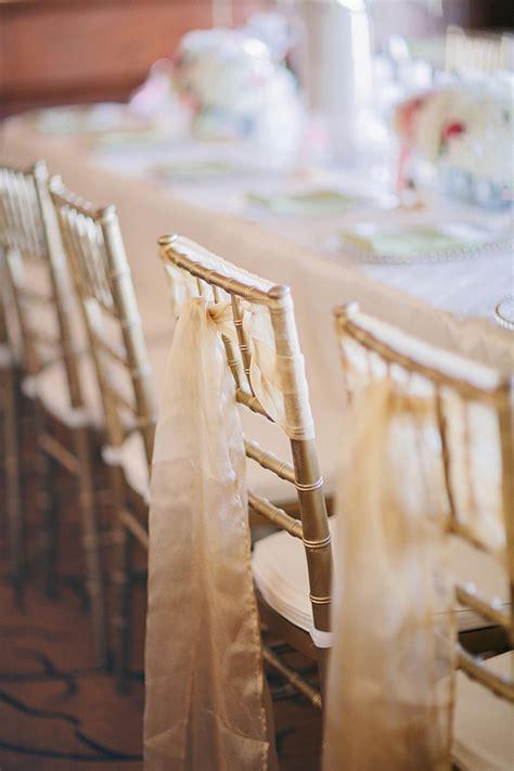 gold sash  chivari chair elizabeth anne designs