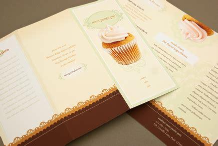 decorative bakery brochure template inkd