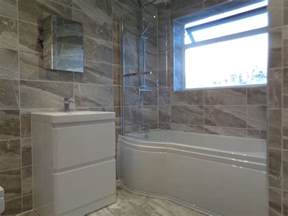 small grey bathroom ideas coventry bathrooms p shaped shower bath bathroom mirror