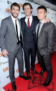 Hemsworth Brothers Hit the Red Carpet for Rush Premiere