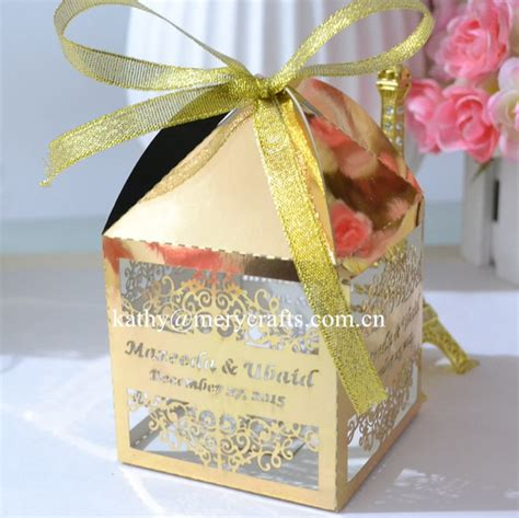 paper box arabic wedding favors wholesale islamic