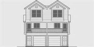narrow townhouse plan duplex design 3 story townhouse d 547 - Multi Level House Plans