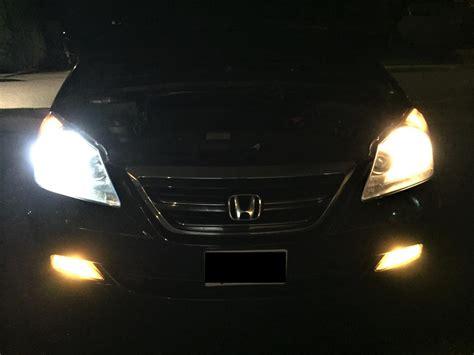 halogen light vs led replaced halogen headlight bulbs with 6000k led eagle bulbs