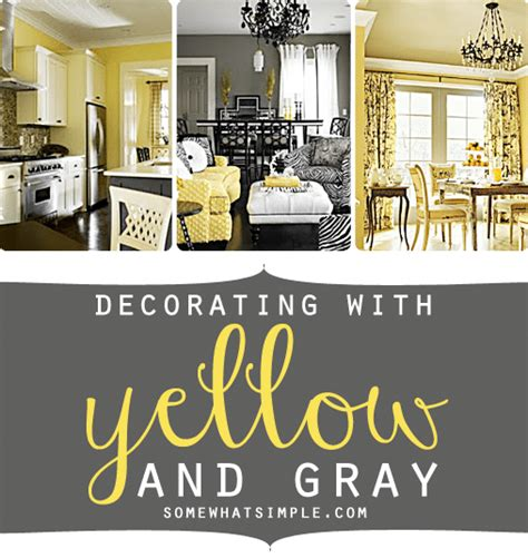 Simple Living Room Ideas Pinterest by Decorating With Yellow And Gray