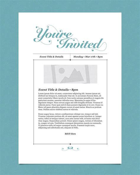 invitation email marketing templates invitation email