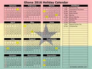 2016 2017 Calendar Holidays