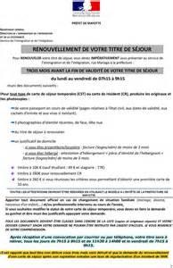 Carte De Séjour Vie Privée Et Familiale 10 Ans by Renouvellement De Votre Titre De S 201 Jour Pdf