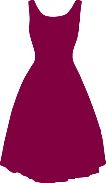 Dress Clipart 1950s Dress Clip At Clker Vector Clip