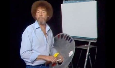 Bob Ross Blank Canvas