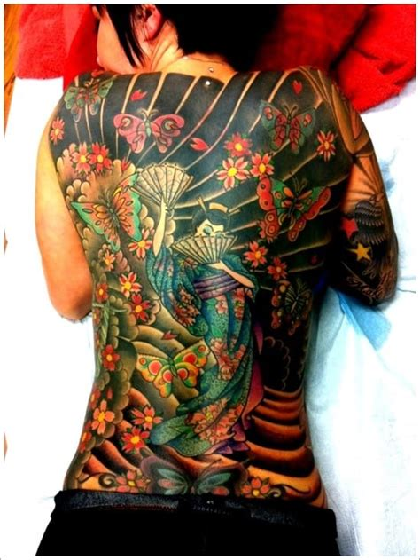japanese geisha tattoos meanings ultimate guide