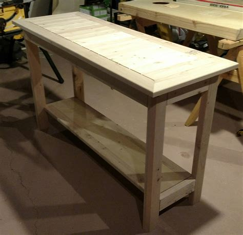 ana white  accent table diy projects