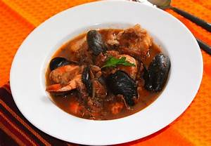 » Traditional Italian seafood stew from Fano