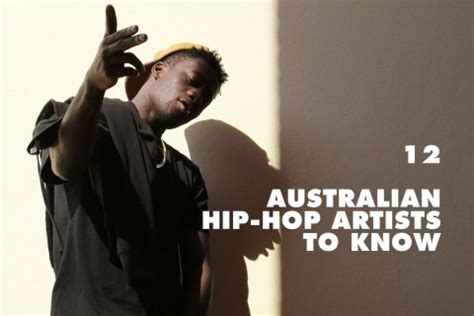 12 Australian Hiphop Artists You Need To Know Right Now