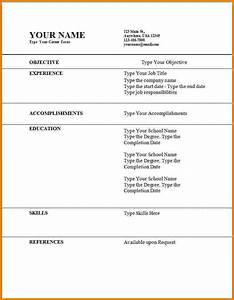 11 first time job resume examples financial statement form for First time job resume template