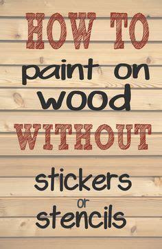 paint letters  words  wood  needing