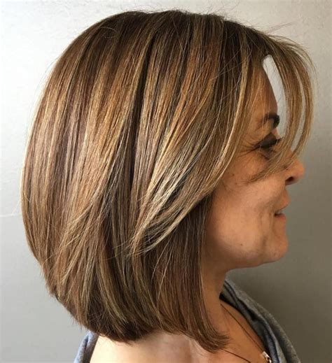 20 Age Defying Hairstyles with Bangs for Older Women