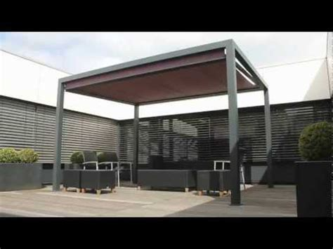 cubola retractable terrace cover youtube