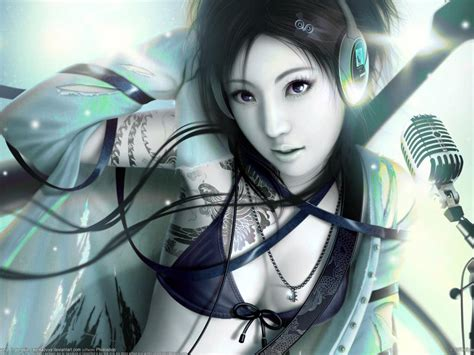 Headphones Girl Anime #812792