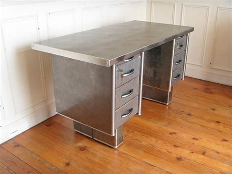 bureau strafor occasion bureau metal strafor style and steel jpg tables