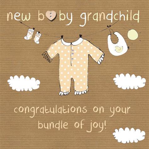baby grandchild card  grandparent card karenza paperie