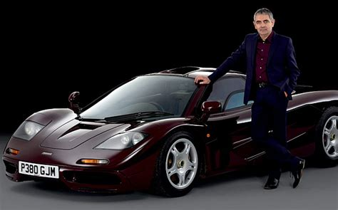 Rowan Atkinson Sells Mclaren F1 He Crashed Twice