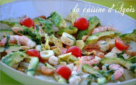 cuisine crevette salade de crevettes avocat pomélo la cuisine d 39 agnèsla cuisine d 39 agnès