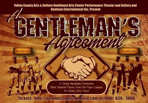gentlemans agreement   baseball color   sw