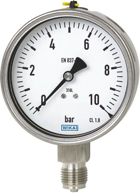 wika pressure ranges wika