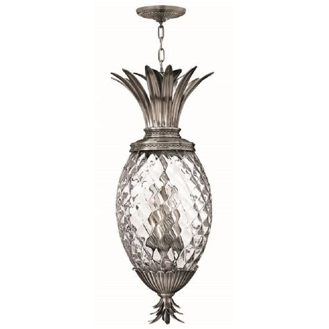 pineapple hanging light fixtures ceiling pendant light pineapple design with clear glass shade