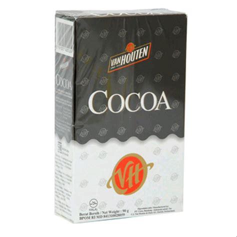 jual coklat cocoa powder van houten  gram  lapak sms