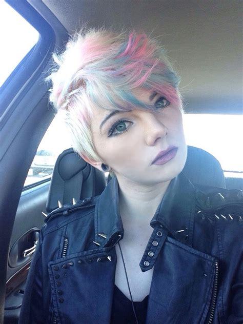 Blue Hair Posts My New Hair