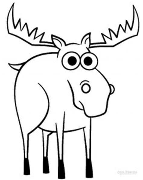 printable moose coloring pages  kids coolbkids