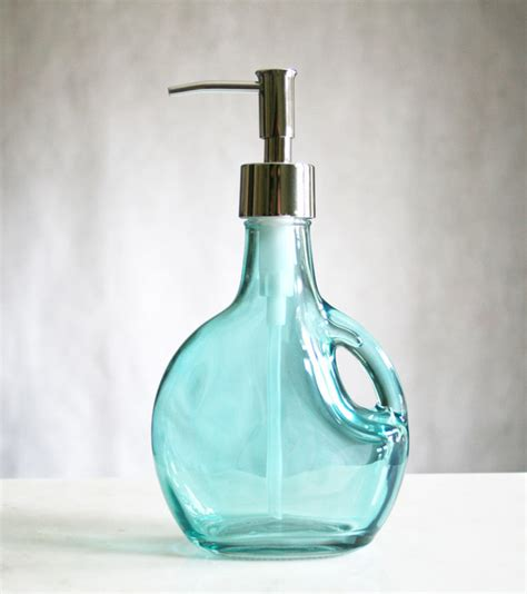 glass soap dispensers bath accessories