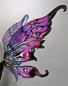 Iridescent Fairy Wings Painted