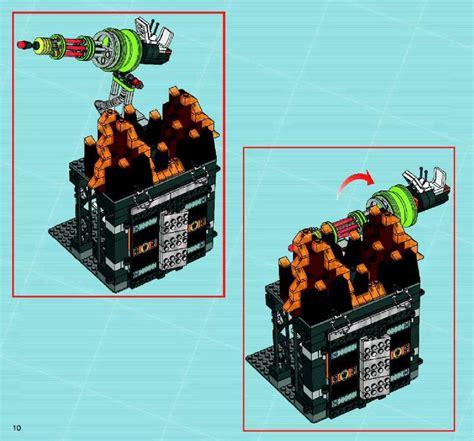Lego Volcano Base Instructions 8637, Agents